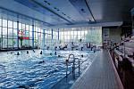 Příbramský bazén je hojně využívaný například pro povinnou školní plaveckou výuku a to i školami z okolí.