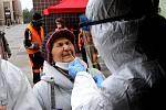 Dobrovolníci OS Českého červeného kříže Příbram byli 11. března 2021vyškoleni v odběru antigenních testů.