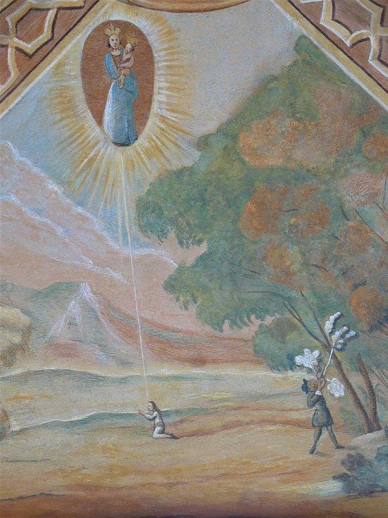 Sto svatohorských milostí: obraz číslo 56.