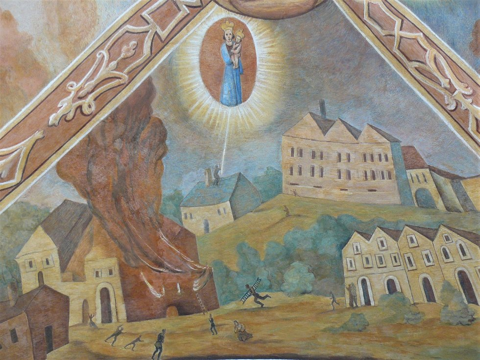 Sto svatohorských milostí: obraz číslo 58.