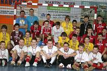 Účastníci třetího kvalifikačního turnaje žáků.