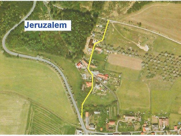 Plánované úseky rekonstrukce silnic
