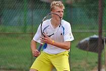 Tenista Jakub Beran.