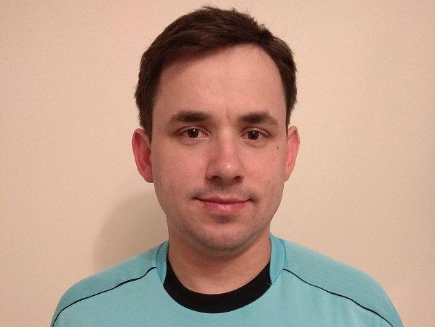 VÍTĚZ. Martin Petřík se stal vítězem čtenářské ankety o nejlepšího fotbalového rozhodčího na Příbramsku.