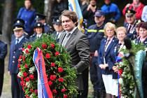Obyvatelé Hradištka uctili památku zavražděných politických vězňů.
