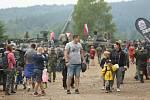 Den pozemního vojska v areálu tankodromu Bahna u Strašic.