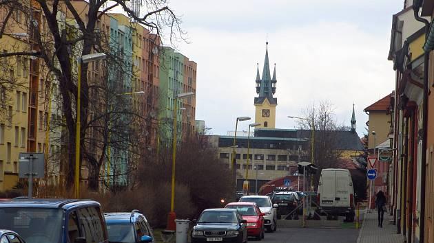 V Milínské ulici v Příbrami chybí především parkovací místa.