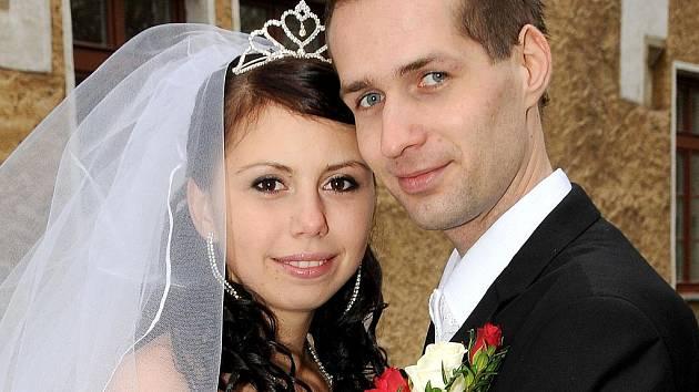 V pátek 11. 11. 2011 v 11 hodin si řekli své ano na Zámečku v Příbrami  Olga Orlova a Tomáš Budějský.