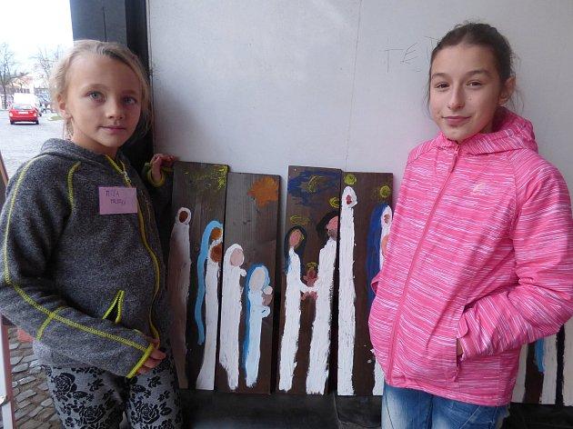 Žáci 4. třídy ZŠ Propojení Sedlčany si vyzkoušeli roli trhovců a jaké je to nabízet vlastnoručně vyrobené zboží.