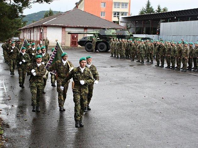 Bojové prapory 13. dělostřeleckého pluku.