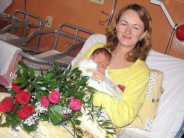 Od soboty 1. ledna má maminka Libuše spolu s tatínkem Martinem ze Sedlčan radost ze svého druhého štěstíčka – synka Marečka Mlejnka, který má z toho dne u jména zapsánu váhu 3,67 kg a míru 51 cm.