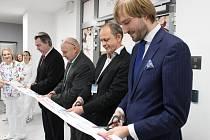 Slavnostní otevření oddělení paliativní péče v Oblastní nemocnici v Příbrami.