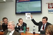 David Rath se hádal se svým předchůdcem Petrem Bendlem o podobě krajských tiskovin.