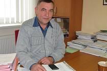 Starosta Krásné Hory Pavel Spilka.