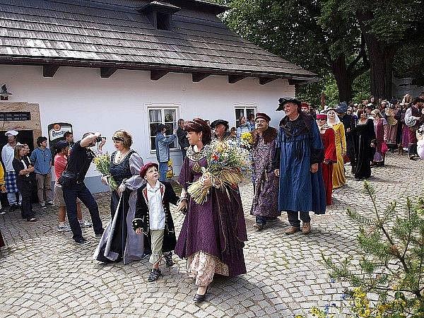 Den s českou královnou.