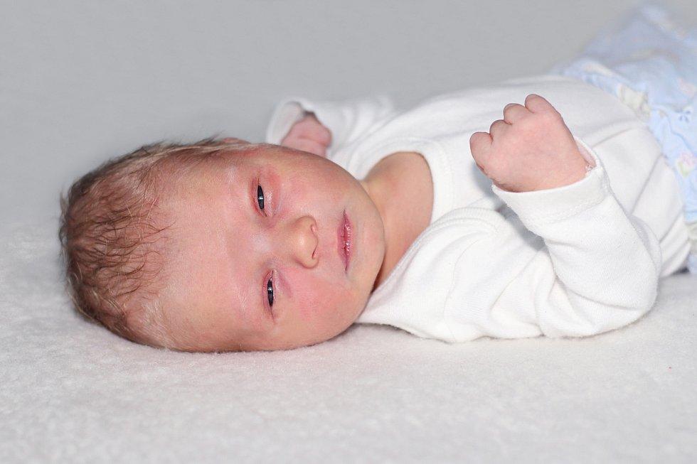 Viktor Michálek se narodil 11. listopadu 2018 s váhou 3,4 kg a mírou 51 cm Simoně a Karlovi z Nové Vsi pod Pleší.