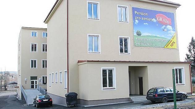 Centrum pro seniory na Balonce v Příbrami.