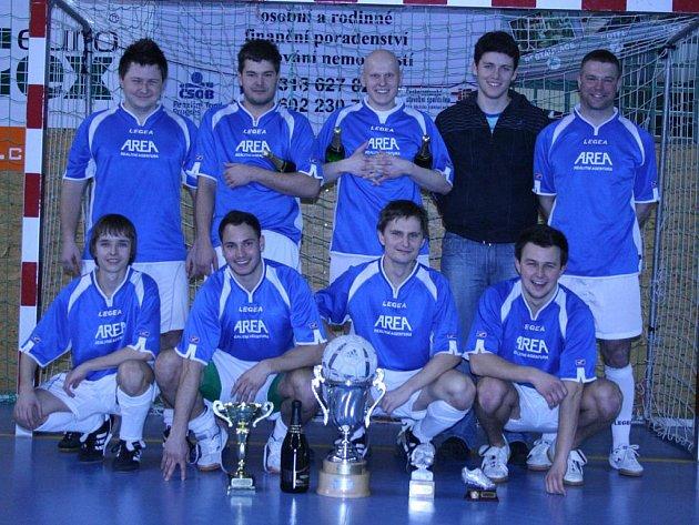 Vítěz OP Příbramska ve futsalu v ročníku 2009-10: Legie Příbram.
