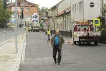 Otevření zrekonstruované Březnické ulice.