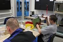 V příbramské věznici pracuje kolem 380 odsouzených.