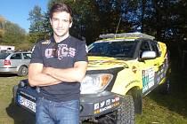 V areálu Sedlčanské kotliny vyprávěl Martin Macík junior o svých přípravách na jubilejní čtyřicátý ročník Rallye Dakar.