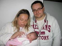 Od neděle 25. srpna mají maminka Jana a tatínek Jan z Příbrami radost ze svého prvního zlatíčka – dcerky Veroniky Noskové, která v ten den vážila 4,06 kg a měřila 53 cm.