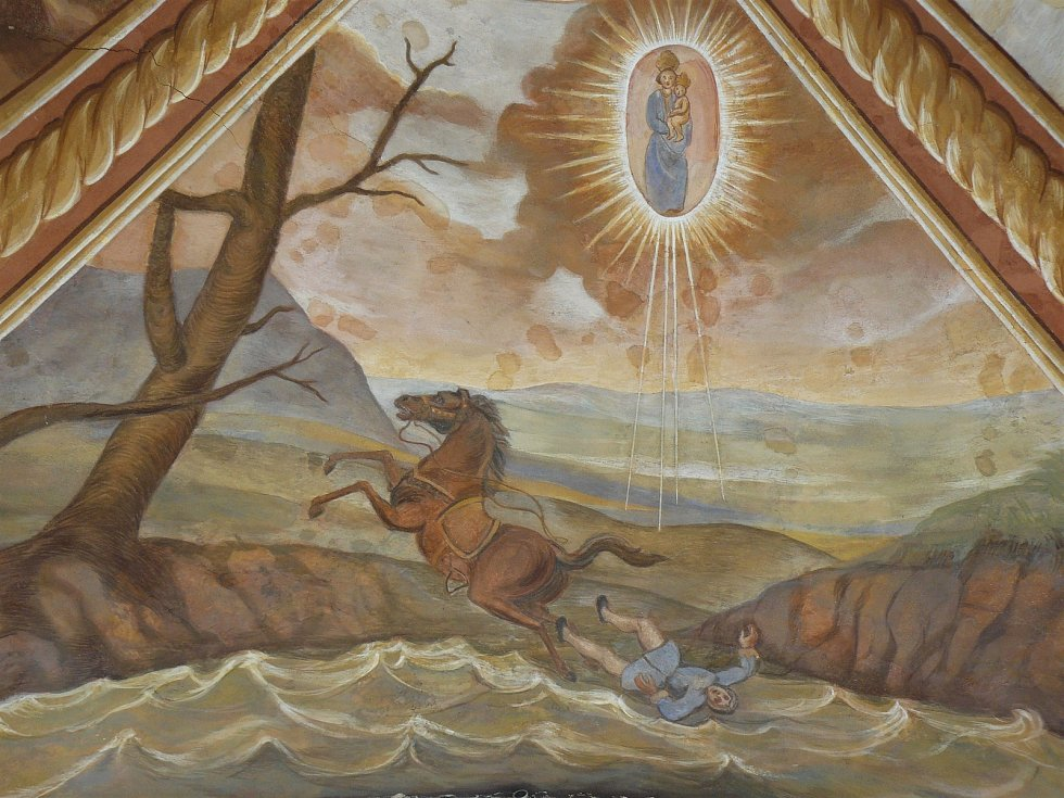 Sto svatohorských milostí: obraz číslo 2.