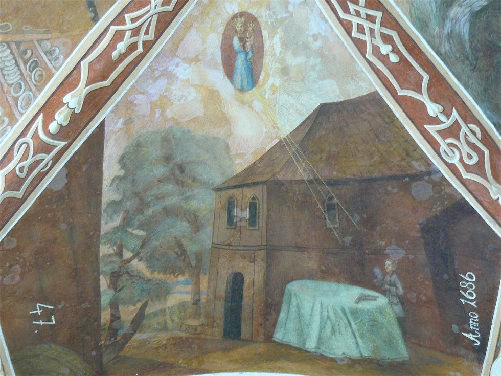 Sto svatohorských milostí: obraz číslo 47.