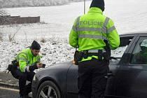 Kontrolovaní řidiči obdrželi reflexní vesty