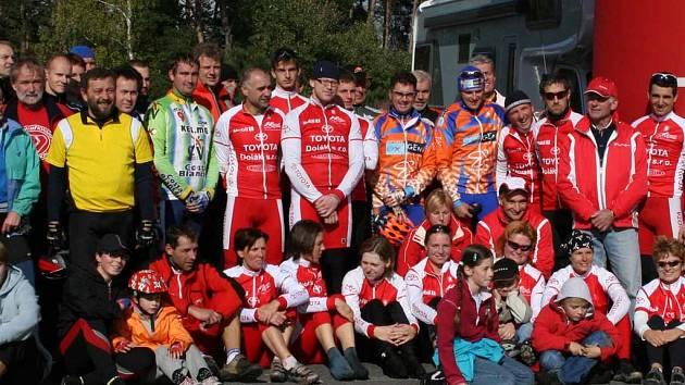Účastníci Toyota Dolák Kapu.