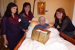 Domov seniorů v Sedlčanech žije v těchto dnech a týdnech projektem Ježíškova vnoučata.