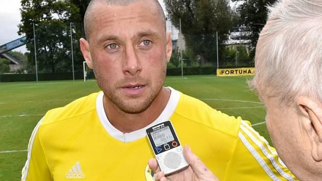 Fotbalista Miroslav Slepička.