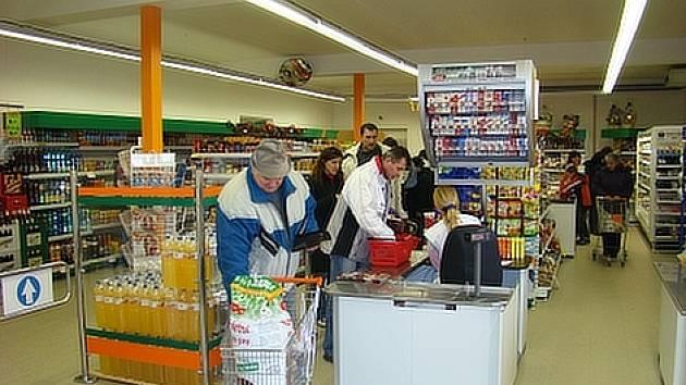 Jinečtí se dočkali nové prodejny.