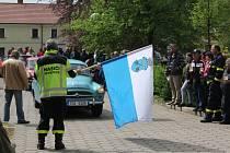 Sraz veteránů v Petrovicích.
