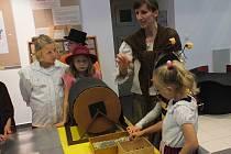 Děti se v rožmitálském muzeu setkaly s oblíbenými večerníčky.