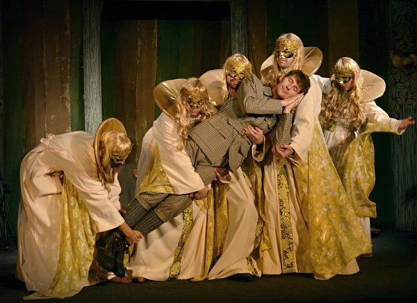 Divadlo uvede hru Tajemný hrad vKarpatech.