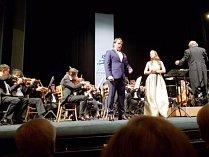 Na zahajovacím koncertu příbramského festivalu samozřejmě zazněly skladby Antonína Dvořáka.