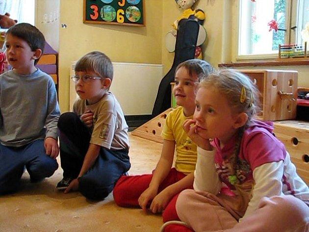 Děti z třídy Ovečky