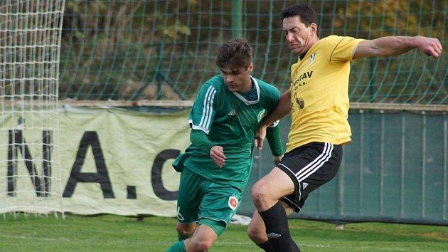Divize A 2018/2019 Tatran Sedlčany - Přeštice 1:3 (0:1).