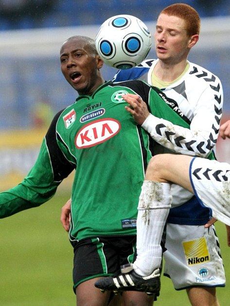 1. liga: Liberec - Příbram (1:0). Danilo De Oliveira.