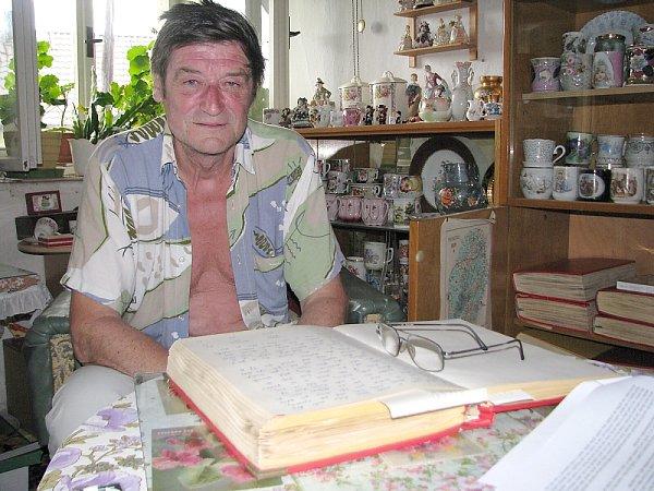 Kronikář Vlastimil Velas.
