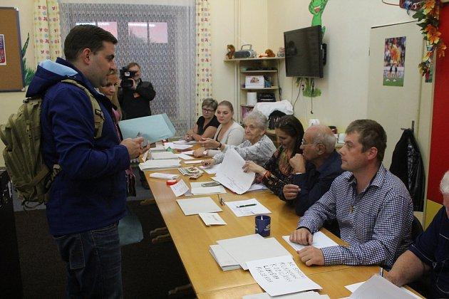 Volby v Příbrami na Březových Horách.