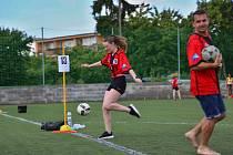 Z prvního ročníku akce Pomáháme sportem, kterou pořádá DC ADRA Příbram.