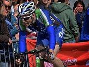 Příbramský cyklista Martin Boubal