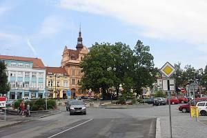 V centru Sedlčan jsou placená parkoviště jen na náměstí TGM a na náměstí Komenského.