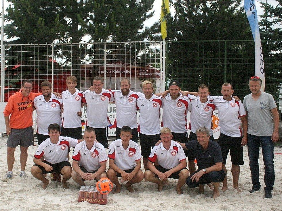 Central Europe Cup v plážové kopané - 4. místo: Dánsko.