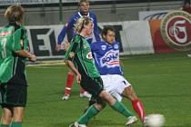 1. liga: 1.FK Příbram - Kladno (2:0).
