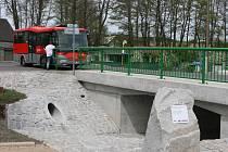 Most přes Litavku byl otevřen