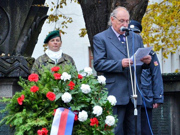 Příbramáci si připomněli 98.výročí vzniku samostatného československého státu.