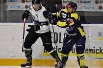 Zápas druhé hokejové ligy Příbram - Kobra Praha, který domácí odehráli ve speciálních dresech.